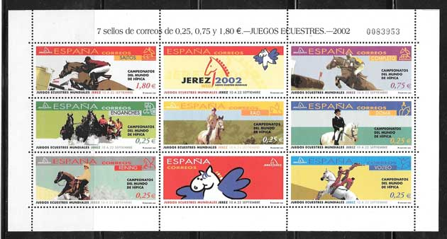7 Seals of Spain Equestrian Games 2002
