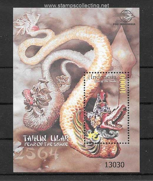 stamp collecting chinesse lunar year