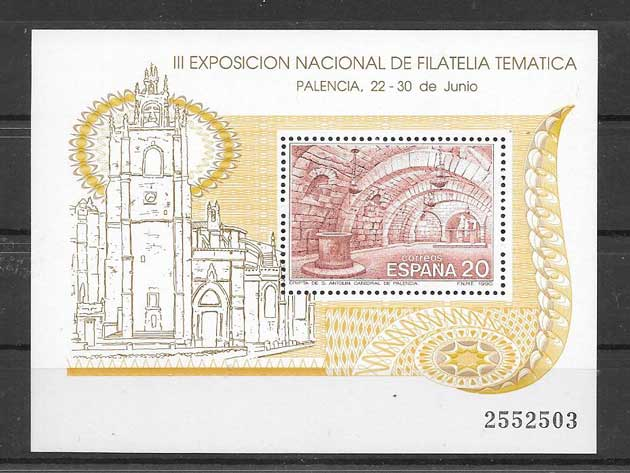 philately stamps Filatem 90 Spain