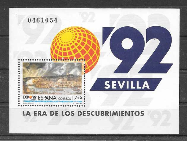 Stamps 1992 Universal Expo Spain