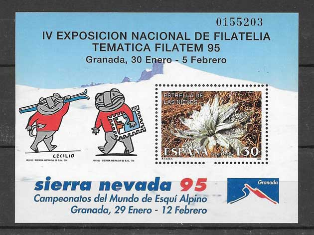 95 stamps Filatem Spain