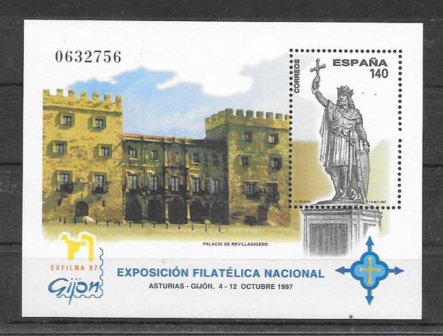 Philately Exfilna Spain 1997