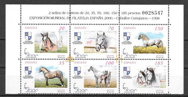 World Exhibition of Philately Spain 2000