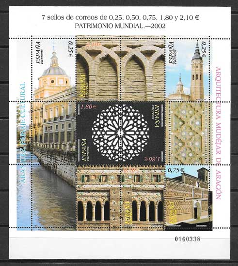 Stamp Collection UNESCO World Heritage