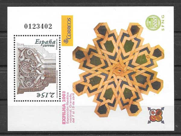 Stamps National Philatelic Exhibition in Granada