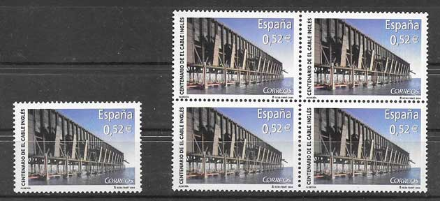 Stamps ore loading España 2004
