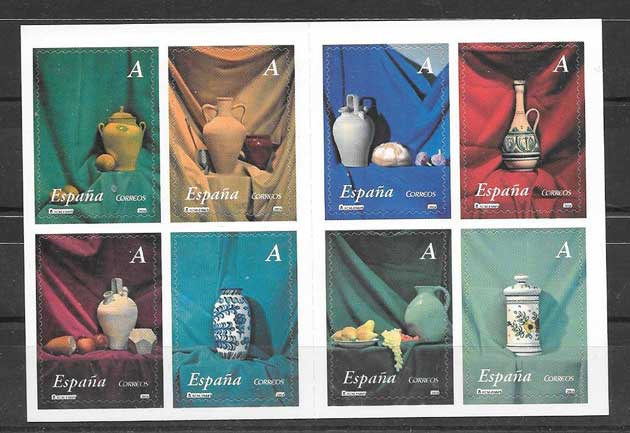 Stamps Spain 2004 ceramic art-