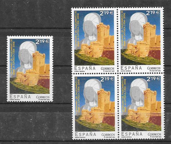 Stamps Spain 2004