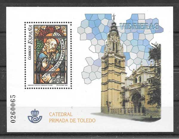 Stamps Spain 2004 Cathedral