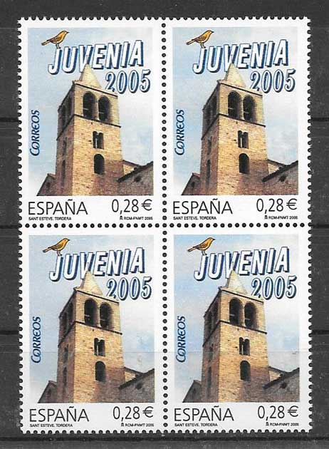 Stamps Expo 2005 Juvenia Spain