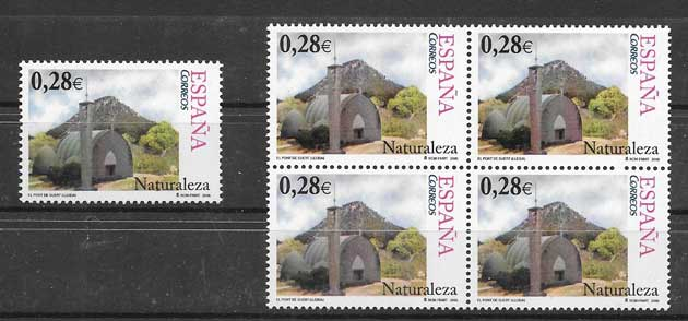 Spain nature philately 2005