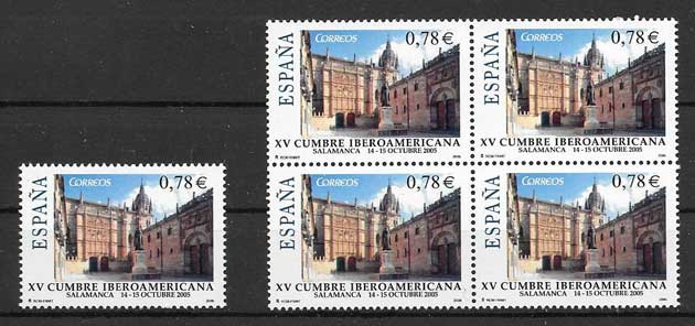 Stamp Collection Spain 2005 Ibero-American Summit