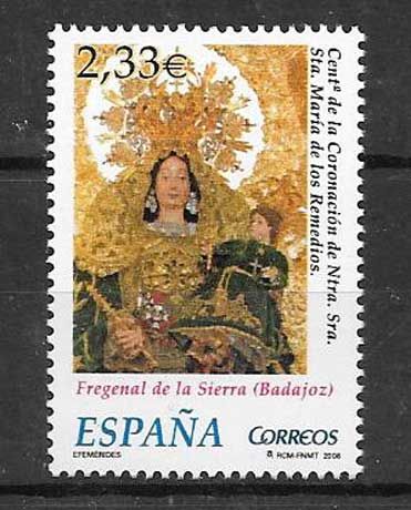 Stamp Collection Spain 2006 image Virgen de los Remedios