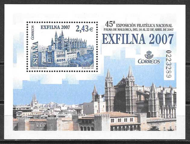Stamps architecture Spain 2007