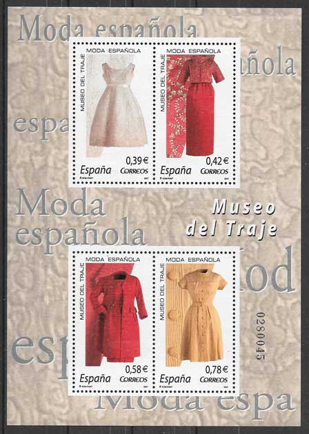 Collection stamps art Spain 2007