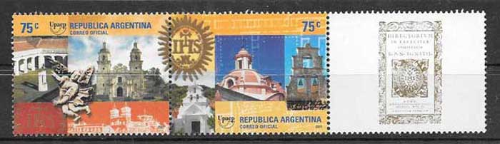 Argentina 2001 America UPAEP stamps