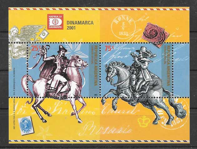 Stamps HAFNIA Expo 2001