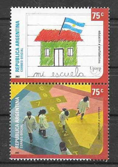 America UPAEP stamps 2001