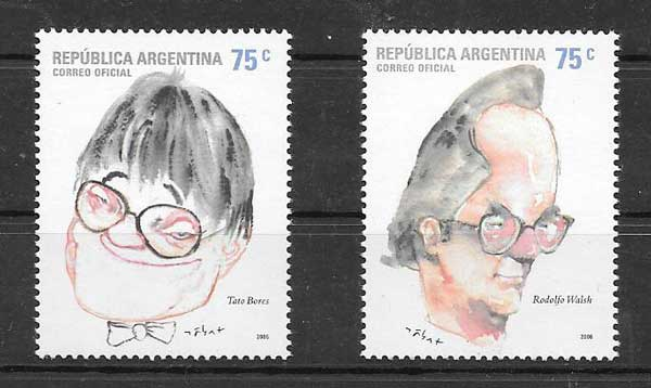 Argentina philately 2006 figures