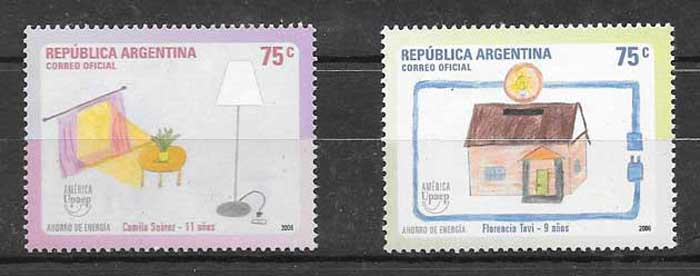 Argentina philately AMERICA UPAEP 2006