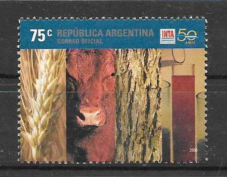 Argentina anniversary stamps collection 2006 Agricultural Institute