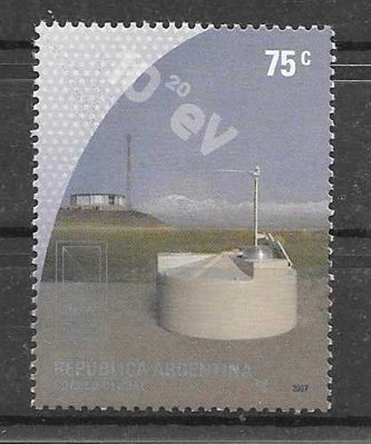 Stamps Argentina 2007 astronomy observatory