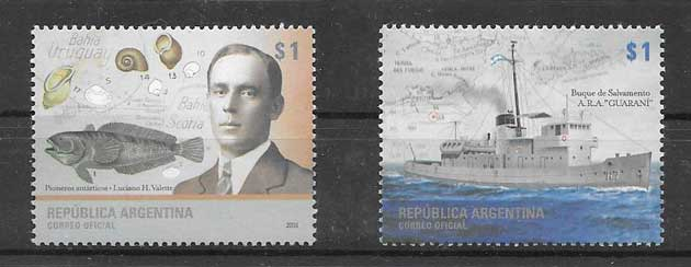 Stamp Collection Antarctica Argentina