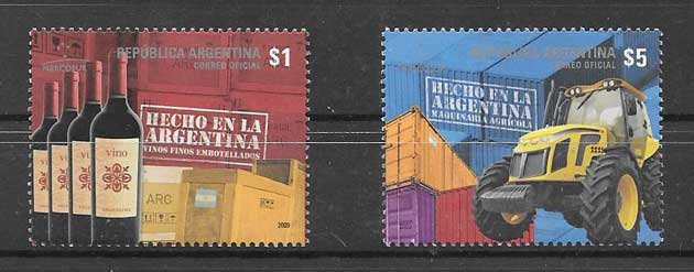 Argentina philately 2009 MERCOSUR