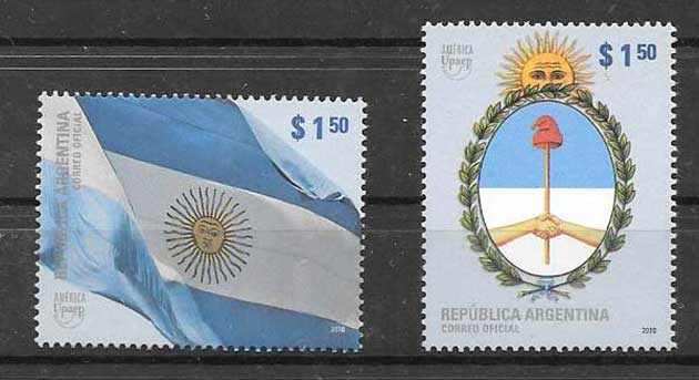 America UPAEP stamps Argentina 2010