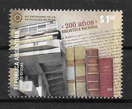 Stamps library Argentina 2010