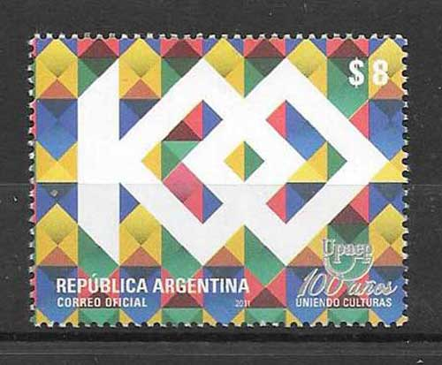 UPAEP Argentina philately stamps centenary 2010