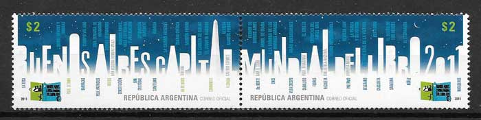 Argentina philately Book Capital 2011