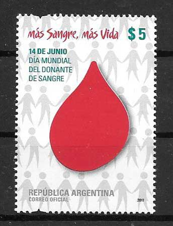 Stamp Collection World Blood Donor Day