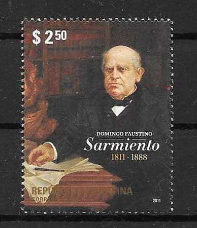 Stamp Collection personality Argentina