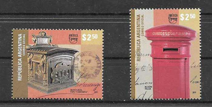 Argentina stamps collection UPAEP 2011