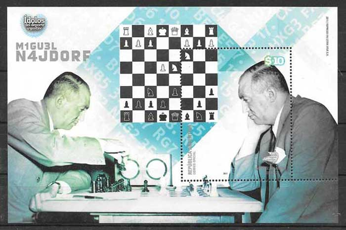 Stamps personality chess