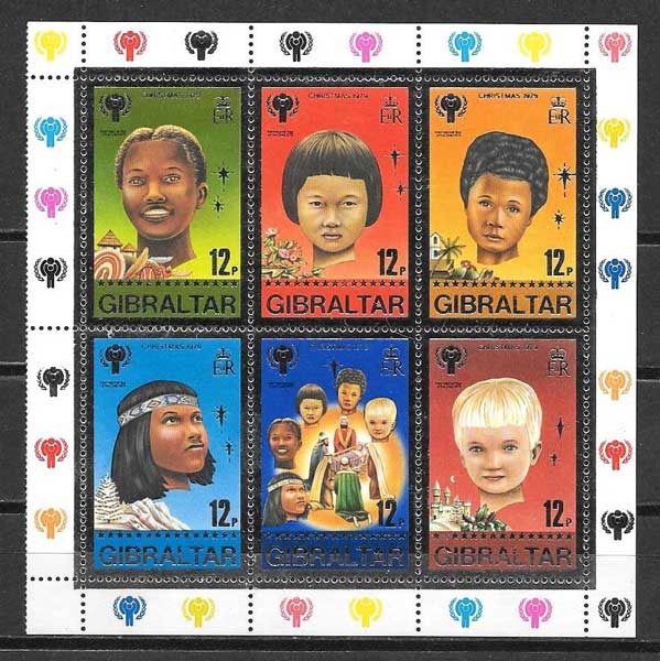 Gibraltar Philatelic childhood and Christmas 1979