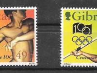 Gibraltar sport philately 1994