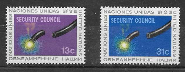 Stamps United Nations Security Council