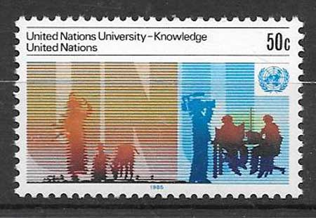 Stamp collection United Nations University