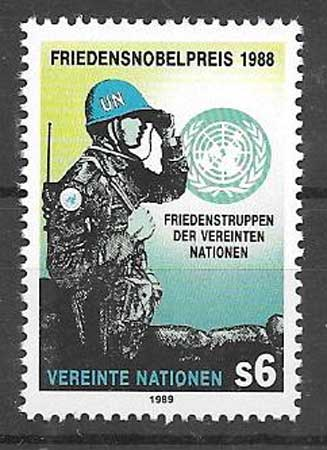 Philately 1988 Nobel Peace United Nations
