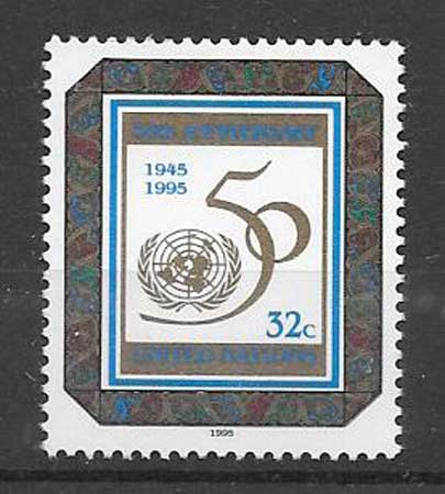 Stamps United Nations 50th Anniversary 1995