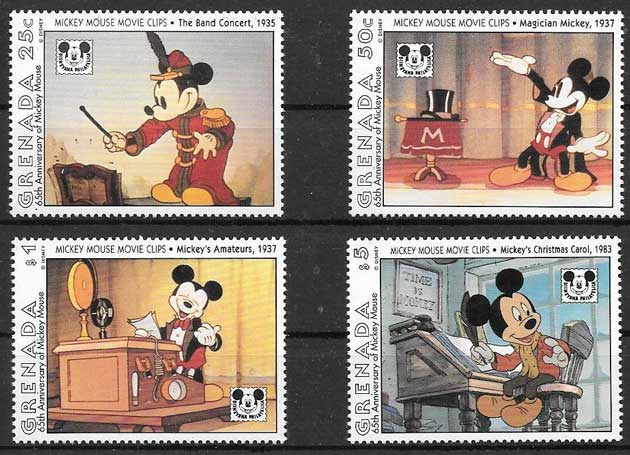 Year 1992, series of 4 stamps No. 2107 - 10 of Catalog Yvert, value 9€. Sport