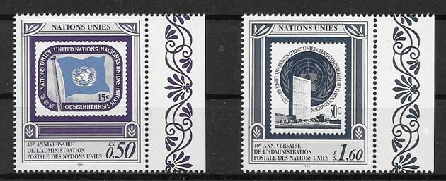 Philately 1991 United Nations Postal Administration